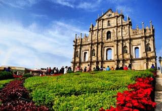 Tempat Wisata Di Macau - Ruins of St. Paul's