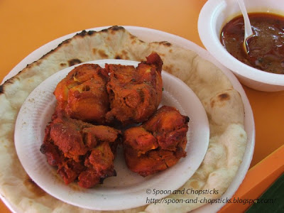 Chicken Tika with Naan bread