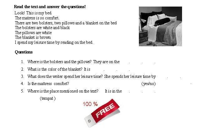 Latihan Soal Bahasa Inggris SD Part 3