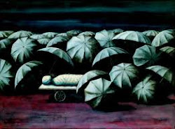 Tendido entre paraguas