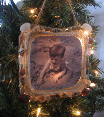 Illuminated memory photo ornament 1