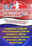 1° Copa Serrinhense de Futsal Masculino