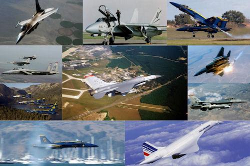 Aviones supersónicos VI (15 imágenes para compartir)