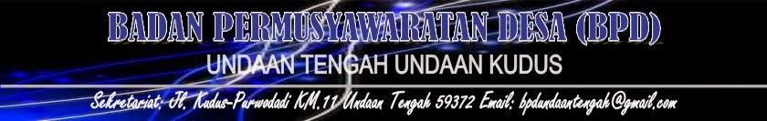 BPD UNDAAN TENGAH PERIODE 2013-2019
