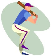 People Play Baseball Clipart  Sports Clipart