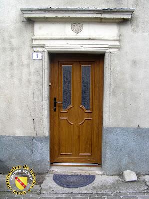 PULLIGNY (54) - Maison de 1583