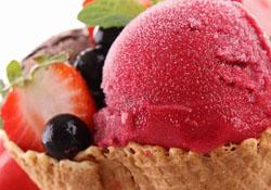 Cherry Strawberry Ice Cream