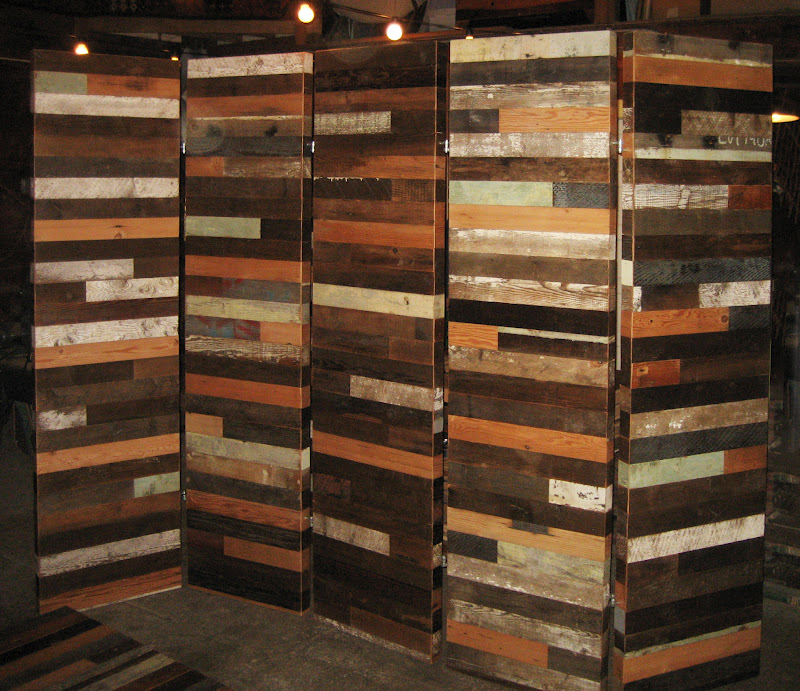 The Lucky Dumpster Barnboard Room Dividers