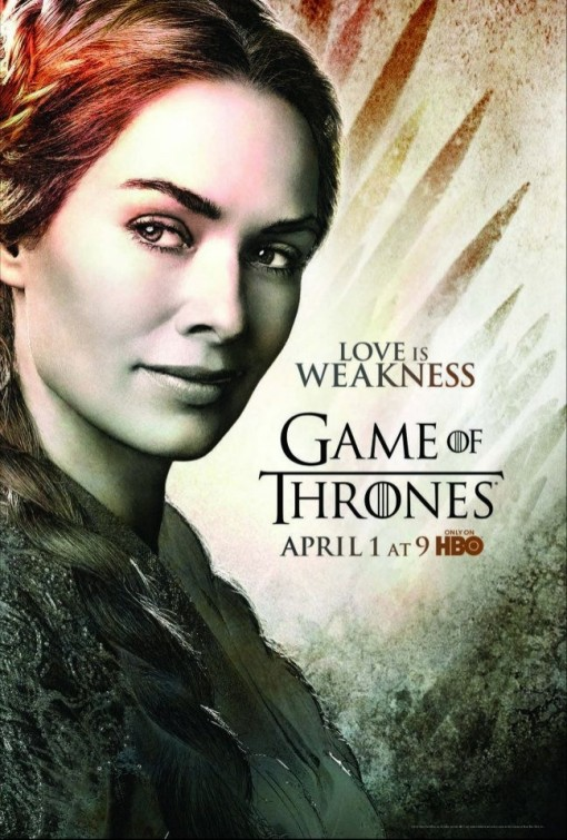 The Blot Says...: Game of Thrones Season 2 Character Posters