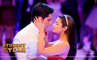 Student Of The Year Alia Bhatt Kisses Sidharth Malhotra