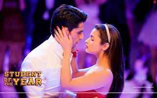 Student Of The Year Alia Bhatt Kisses Sidharth Malhotra