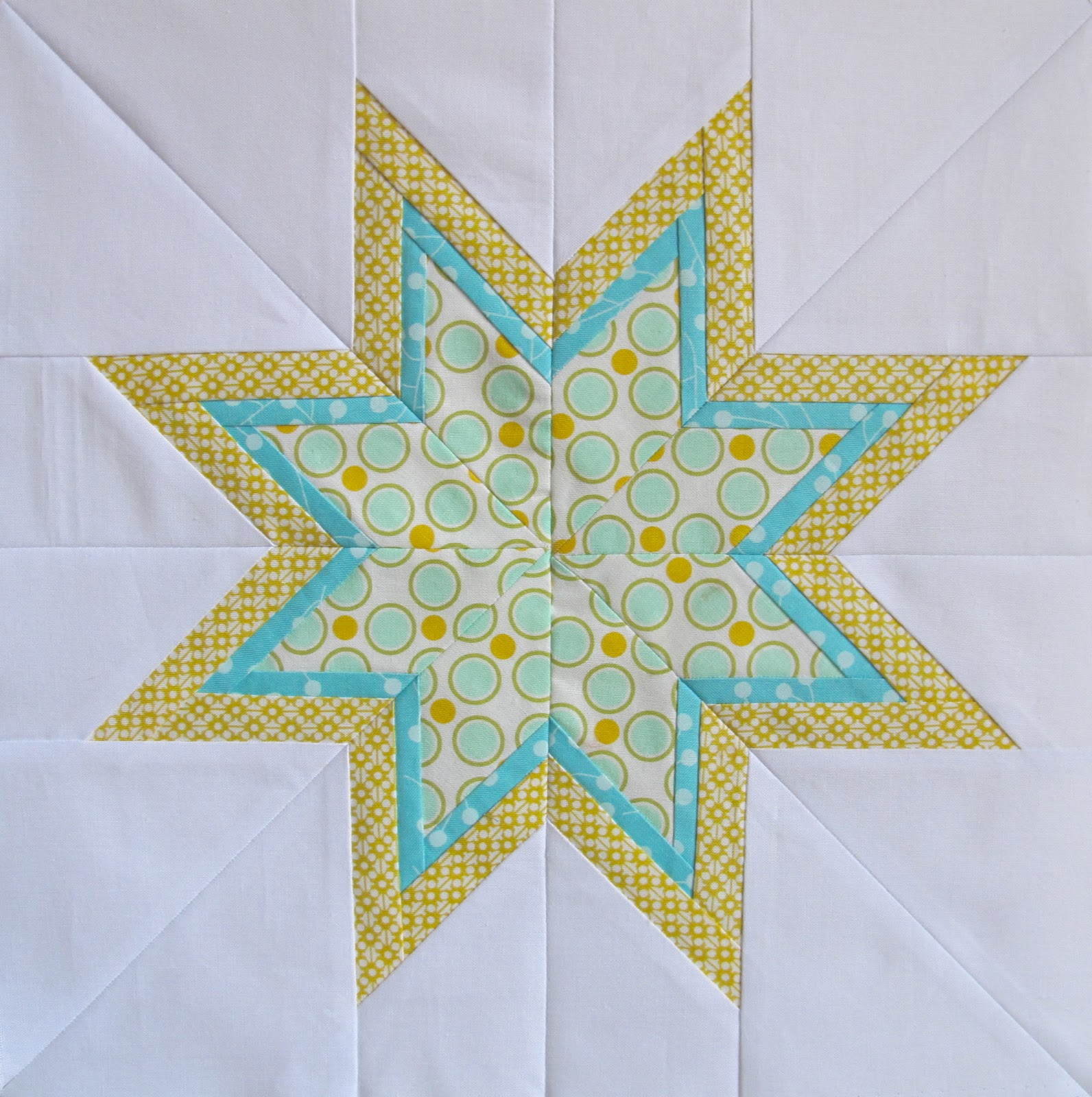 Six white horses the lone starburst for Paper star pattern template