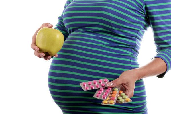 Prenatal vitamins during pregnancy
