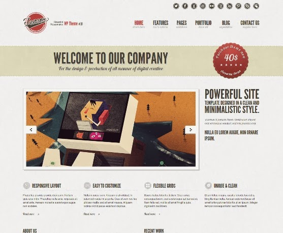 Tensor Responsive WordPress Theme
