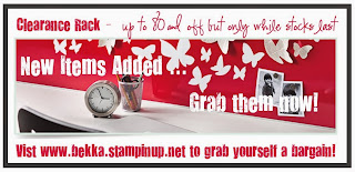 Grab a Bargain at www.bekka.stampinup.net