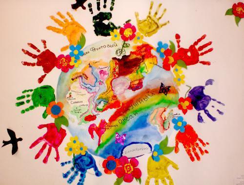 Поделки детей на тему мира 149