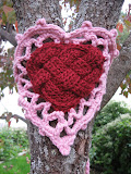 Celtic Knot Heart Yarn Bomb