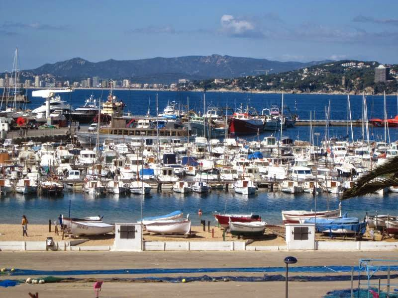 Fishing port of Palamos
