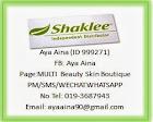 ID SHAKLEE- 999271