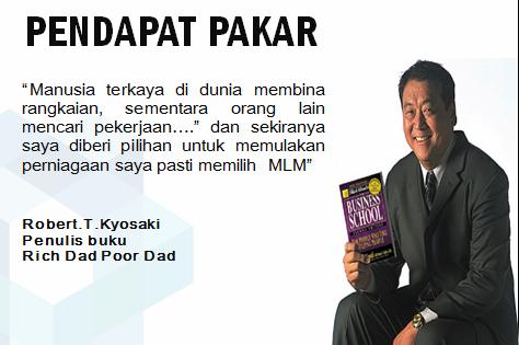 duduk diam-diam dapat duit,pelaburan, pelaburan lebur, investment, pelaburan senyap, multi level marketing,mlm, robert kiyosaki, Tun Mahathir,