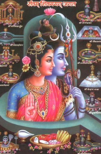 Lord Shiva & Parvathi 8