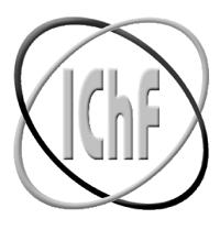 Logo Instytutu Chemii Fizycznej Polskiej Akademii Nauk