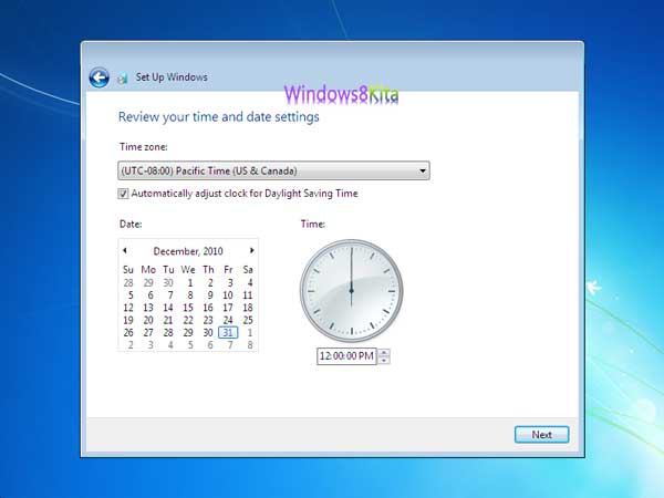 Panduan Cara Instal Windows 7 step 25