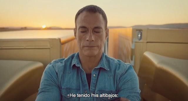 Van Damme concentrado