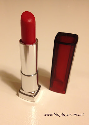 Maybelline Color Sensational 530 Fatal Red