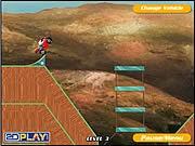 Trình diễn xe bay, chơi game đua xe moto bay tại GameVui.biz