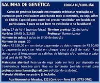 SALINHA DE GENÉTICA
