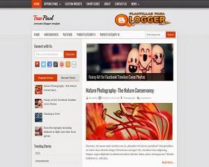 Plantilla blogger True Pixel
