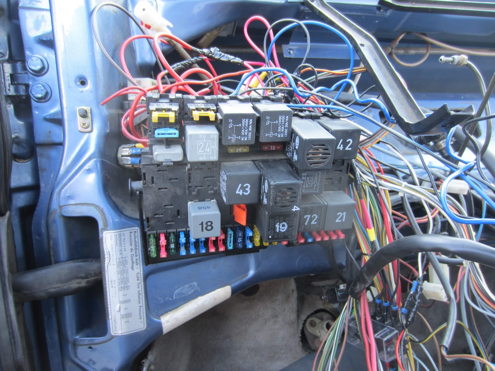 1990 vanagon fuse box diagram 1990 image wiring the volkswagon vanagon diy vw mechanic vanagon heater core on 1990 vanagon fuse box diagram