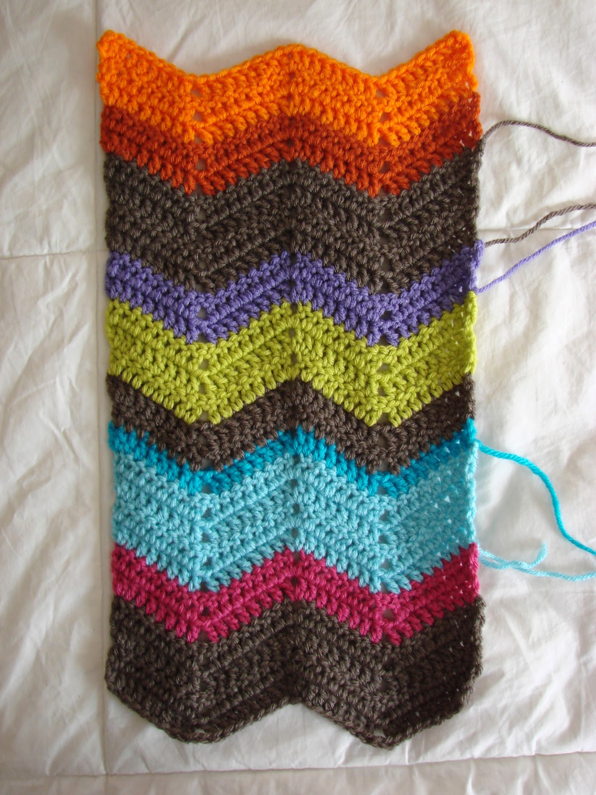Crochet In Color Tuesday Saturday Tallies