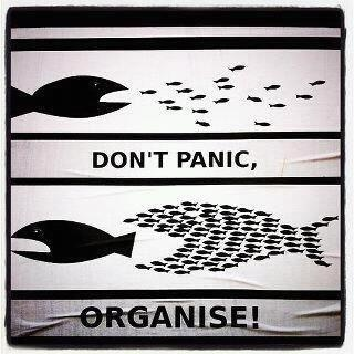 Don´t be panic, organise!