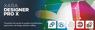 برنامج xara designer pro لتصميم صفحات الويب والتعديل على الصور