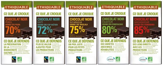 tablette de chocolat ethiquable nouveau look design emballage