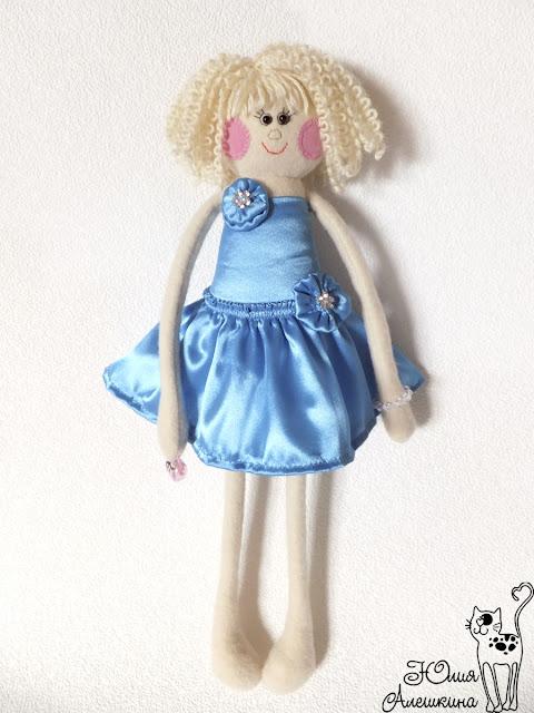 Кукла длинноножка по фото. Невеста Алена. В полный рост