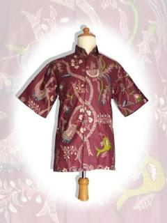batik pria modern