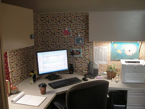 Awesome Furniture Cubicle Decorating Ideas Cubicle Decoration Themes Vase