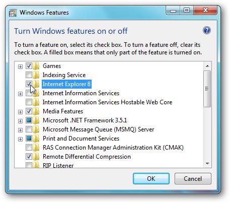 cara menonaktifkan internet explorer windows 7