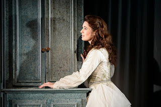 Nicole Car in Kasper Holten's production Eugene Onegin at Royal Opera House © Photograph by Bill Cooper, ROH 2015