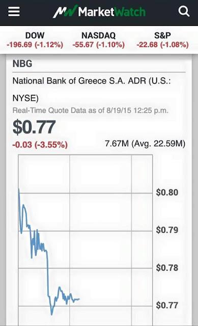 Καταρρέουν οι τράπεζες και (ξανά) η Εθνική μαζί με αυτές