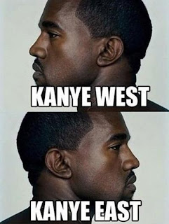 Funny Celebrity Pun Pictures - Kanye West East