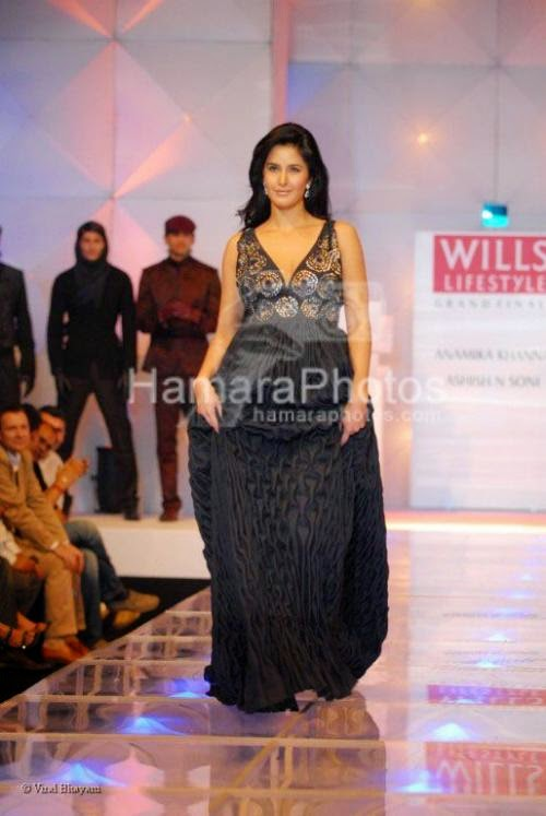 Katrina Kaif at Best of Wills India Fashion Week
