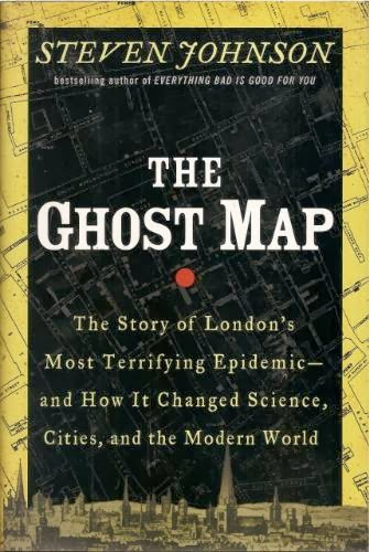 The Ghost Map by Steven Johnson - Book                           Cover image