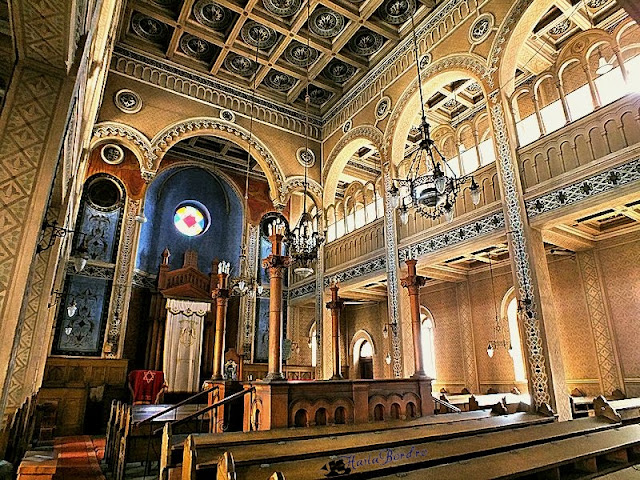 interior sinagoga sibiu