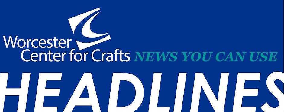 Worcester Center for Crafts E-News