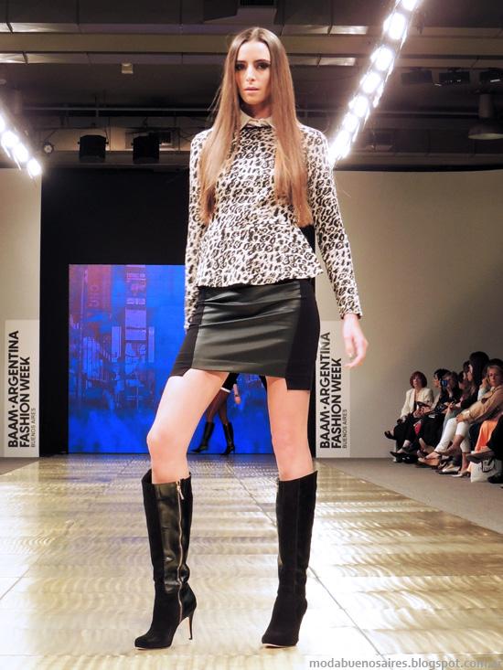 Tendencias de moda otoño invierno 2014 Markova