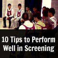 screening test tips
